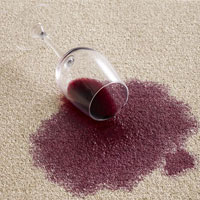 How to clean wine stains from the furniture